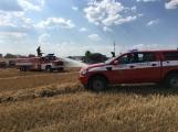 Aktuálně: Mimořádné nasazení hasičů si momentálně vyžádala likvidace požáru pole na Rožmitálsku (28)