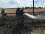 Aktuálně: Mimořádné nasazení hasičů si momentálně vyžádala likvidace požáru pole na Rožmitálsku (25)