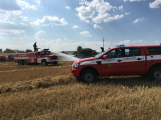 Aktuálně: Mimořádné nasazení hasičů si momentálně vyžádala likvidace požáru pole na Rožmitálsku (43)