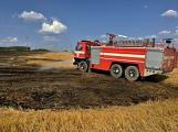 Aktuálně: Mimořádné nasazení hasičů si momentálně vyžádala likvidace požáru pole na Rožmitálsku (21)