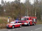 Mezi Oborami a Dublovicemi se srazily dva vozy a autobus (5)