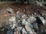 """Požářiště poblíž """"Kazatelny"""" v oblasti Třemošné po několika zásazích (5)"""
