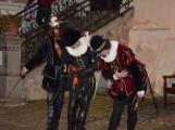 V březnickém zámku se šlechtici utkali o krásnou paní z Monsoreau (1)
