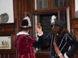 V březnickém zámku se šlechtici utkali o krásnou paní z Monsoreau (8)