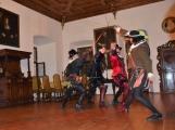 V březnickém zámku se šlechtici utkali o krásnou paní z Monsoreau (11)