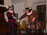 V březnickém zámku se šlechtici utkali o krásnou paní z Monsoreau (13)