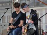 Náměstí TGM ovládli rockeři (22)