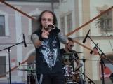 Náměstí TGM ovládli rockeři (33)