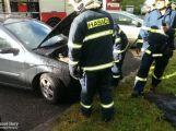 Dobrovolní hasiči měli minulý týden napilno, jeli hasit lesní porost i osobní vůz ()