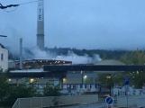 AKTUÁLNĚ: V příbramských Kovohutích hoří, na místě zasahuje několik hasičských jednotek ()