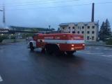 AKTUÁLNĚ: V příbramských Kovohutích hoří, na místě zasahuje několik hasičských jednotek (20)
