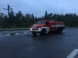 AKTUÁLNĚ: V příbramských Kovohutích hoří, na místě zasahuje několik hasičských jednotek (21)
