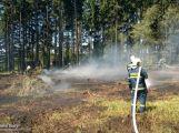 Dobrovolní hasiči měli minulý týden napilno, jeli hasit lesní porost i osobní vůz (1)