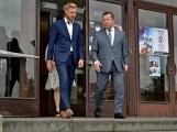 Kulturní dům se možná dočká rekonstrukce. Přislíbil ji ministr kultury Staněk a zastupitel města Petr Větrovský (32)