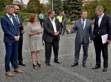 Kulturní dům se možná dočká rekonstrukce. Přislíbil ji ministr kultury Staněk a zastupitel města Petr Větrovský (3)