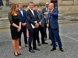 Kulturní dům se možná dočká rekonstrukce. Přislíbil ji ministr kultury Staněk a zastupitel města Petr Větrovský (6)