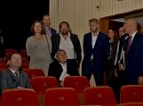 Kulturní dům se možná dočká rekonstrukce. Přislíbil ji ministr kultury Staněk a zastupitel města Petr Větrovský (9)
