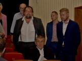 Kulturní dům se možná dočká rekonstrukce. Přislíbil ji ministr kultury Staněk a zastupitel města Petr Větrovský (10)