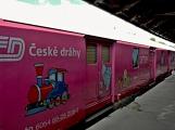 Nejednalo se o požár, ale Příbramí projel parní vlak (51)
