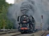 Nejednalo se o požár, ale Příbramí projel parní vlak (49)
