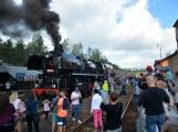 Nejednalo se o požár, ale Příbramí projel parní vlak (44)