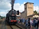 Nejednalo se o požár, ale Příbramí projel parní vlak (45)