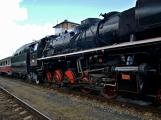 Nejednalo se o požár, ale Příbramí projel parní vlak (48)