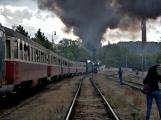 Nejednalo se o požár, ale Příbramí projel parní vlak (71)