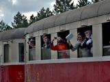 Nejednalo se o požár, ale Příbramí projel parní vlak (12)