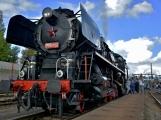 Nejednalo se o požár, ale Příbramí projel parní vlak (15)