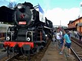 Nejednalo se o požár, ale Příbramí projel parní vlak (16)