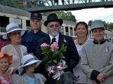 Nejednalo se o požár, ale Příbramí projel parní vlak (18)