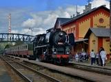 Nejednalo se o požár, ale Příbramí projel parní vlak (3)
