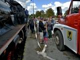 Nejednalo se o požár, ale Příbramí projel parní vlak (8)