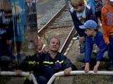 Nejednalo se o požár, ale Příbramí projel parní vlak (33)