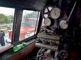 Nejednalo se o požár, ale Příbramí projel parní vlak (35)