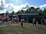 Nejednalo se o požár, ale Příbramí projel parní vlak (37)