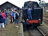 Nejednalo se o požár, ale Příbramí projel parní vlak (38)