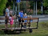 Nejednalo se o požár, ale Příbramí projel parní vlak (26)