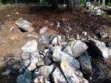Požár v lese u Třemošné - Kazatelna (CHKO Brdy) (2)