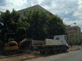 Ve Školní ulici se již pracuje, parkovací místa budou hotová do konce prázdnin (1)