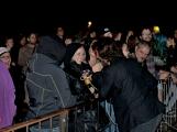 Březnické sobotní nebe rozzářil ohňostroj a světla Rockfestu (14)