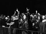 Březnické sobotní nebe rozzářil ohňostroj a světla Rockfestu (41)