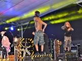 Březnické sobotní nebe rozzářil ohňostroj a světla Rockfestu (32)