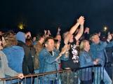 Březnické sobotní nebe rozzářil ohňostroj a světla Rockfestu (49)