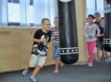 Spousta malých bojovníků se poprvé utkala v příbramské Boxerně (43)