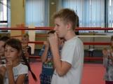 Spousta malých bojovníků se poprvé utkala v příbramské Boxerně (32)