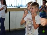 Spousta malých bojovníků se poprvé utkala v příbramské Boxerně (41)