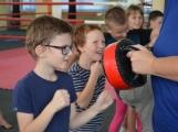 Spousta malých bojovníků se poprvé utkala v příbramské Boxerně (37)