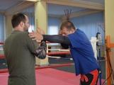 Spousta malých bojovníků se poprvé utkala v příbramské Boxerně (21)
